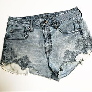 American Eagle Outfitters Hi Rise Festival Shorts